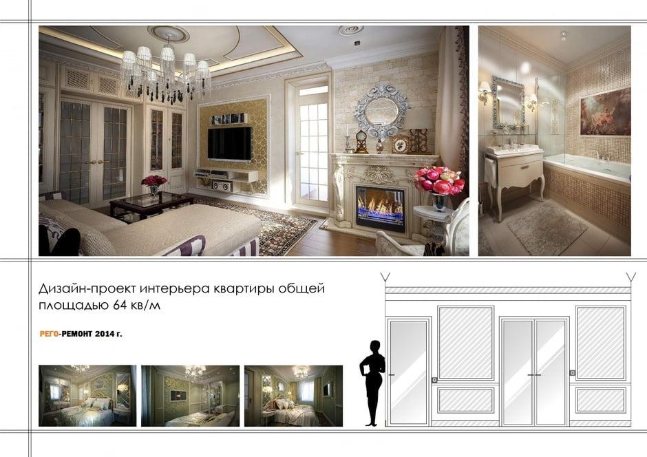 Нижний новгород дизайн проект квартиры