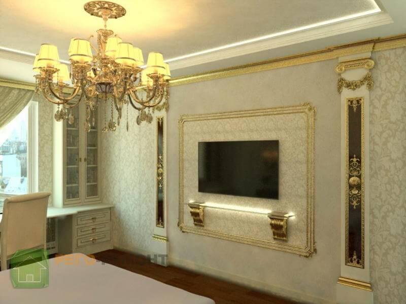 Ремонт квартир под ключ и типовая отделка в Москве - наш