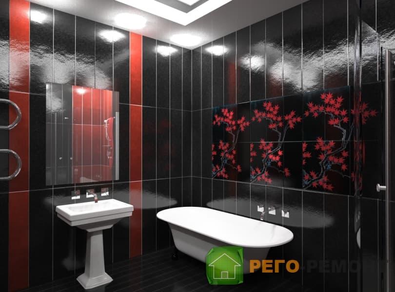 Ремонт квартир дизайн ванной