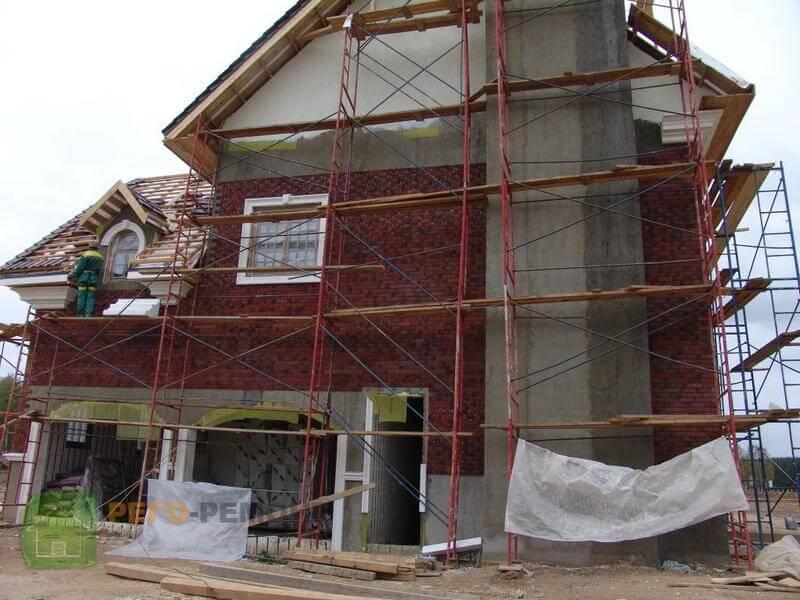 Газобетонные дома и их отделка фасада